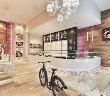Дизайн магазина и витрин
