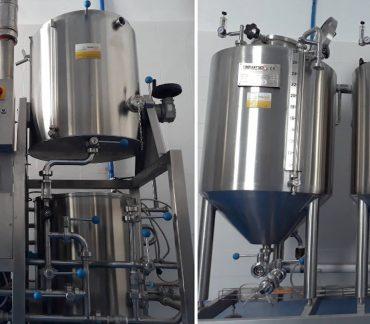 Фото мини-пивоварни бывшей в употреблении