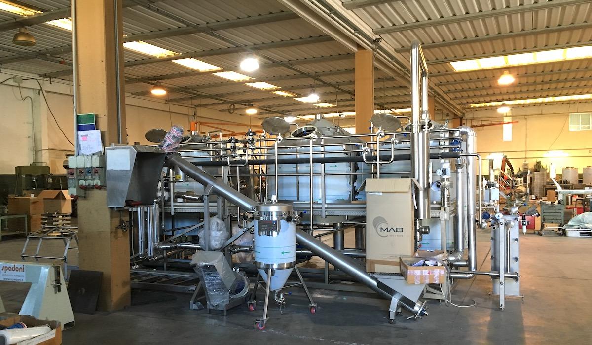 завод в Италии