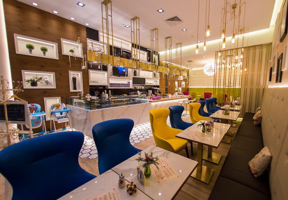 Кондитерское кафе по проекту итальянского архитектора